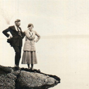 Allan & Grace Carruthers Chemainus 1921